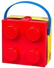 LEGO 40240601 Box With Blue Handle Bright Red