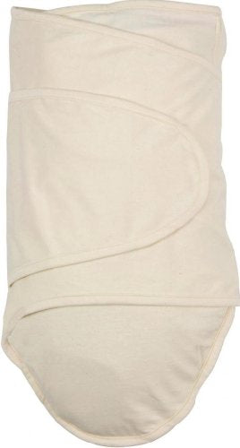 Miracle Blanket Swaddle Wrap for Newborn Infant Baby, Natural Beige