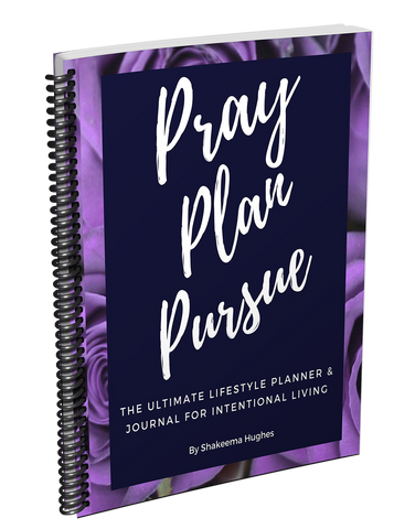 Pray Plan Pursue! Planner and Journal