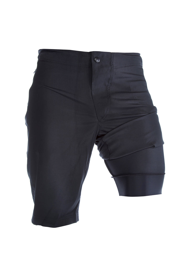 Pantaloneta Mountain Bike - Black Proline