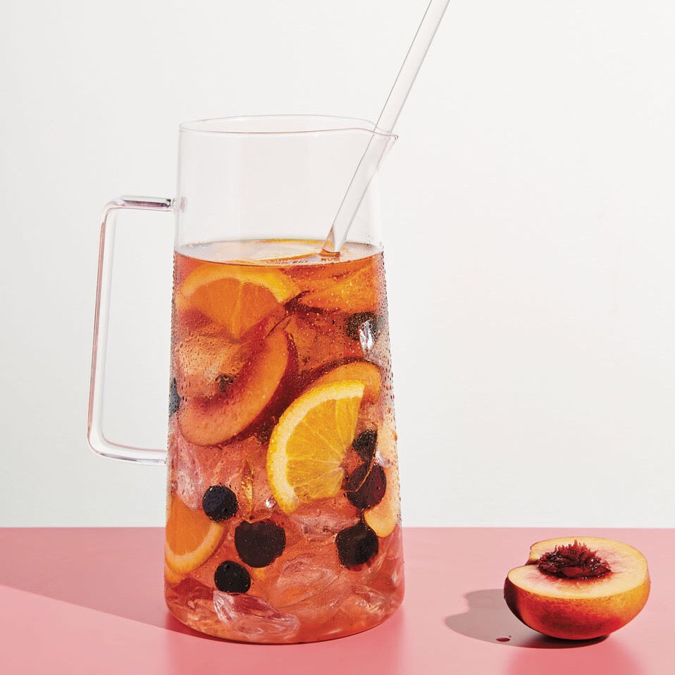 Rosé Sangria with Nectarines