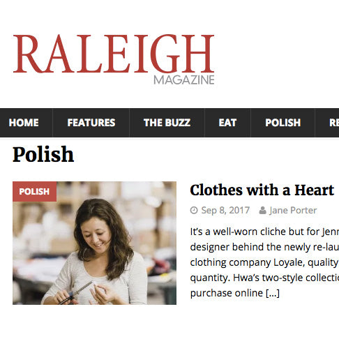 Press | Raleigh Magazine