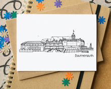 Bournemouth Skyline Landmarks Greetings Card