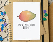 """Have A Mango-Ificent Birthday"" Funny Card"