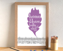 Home Is Where... Personalised Print