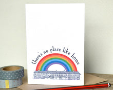 """There's No Place Like Home"" New Home or Bon Voyage Card"