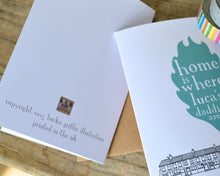 Personalised Adoption Card for Adoptive Parents - personalised