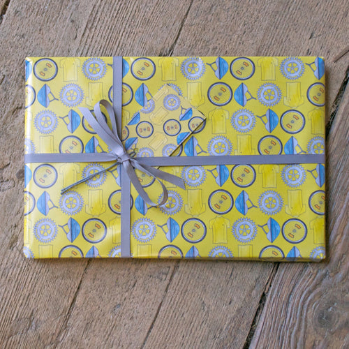 Cycling Bike Wrapping Paper
