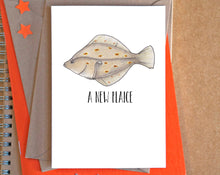 """New Plaice"" New Home Card"