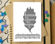 Home is Where My Mum Is Mother's Day Card