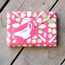 Turkey Christmas Dinner Wrapping Paper