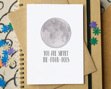 """You Are Simply Tre-moon-dous"" Funny Love Card"