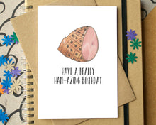 "Funny ""Have A Ham-azing Birthday"" Card"