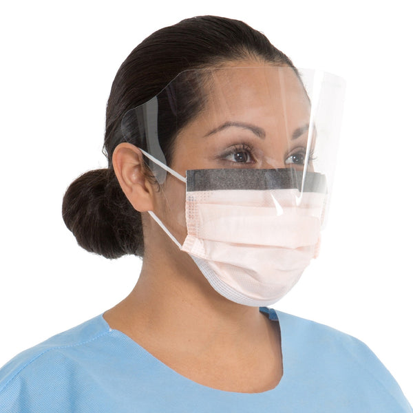 Haylard Health FLUIDSHIELD Level 3 Procedure Mask with Wraparound Visor