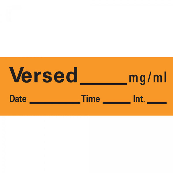 LABEL VERSED