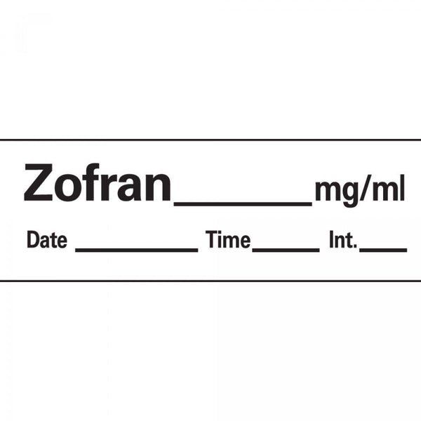 LABEL ZOFRAN