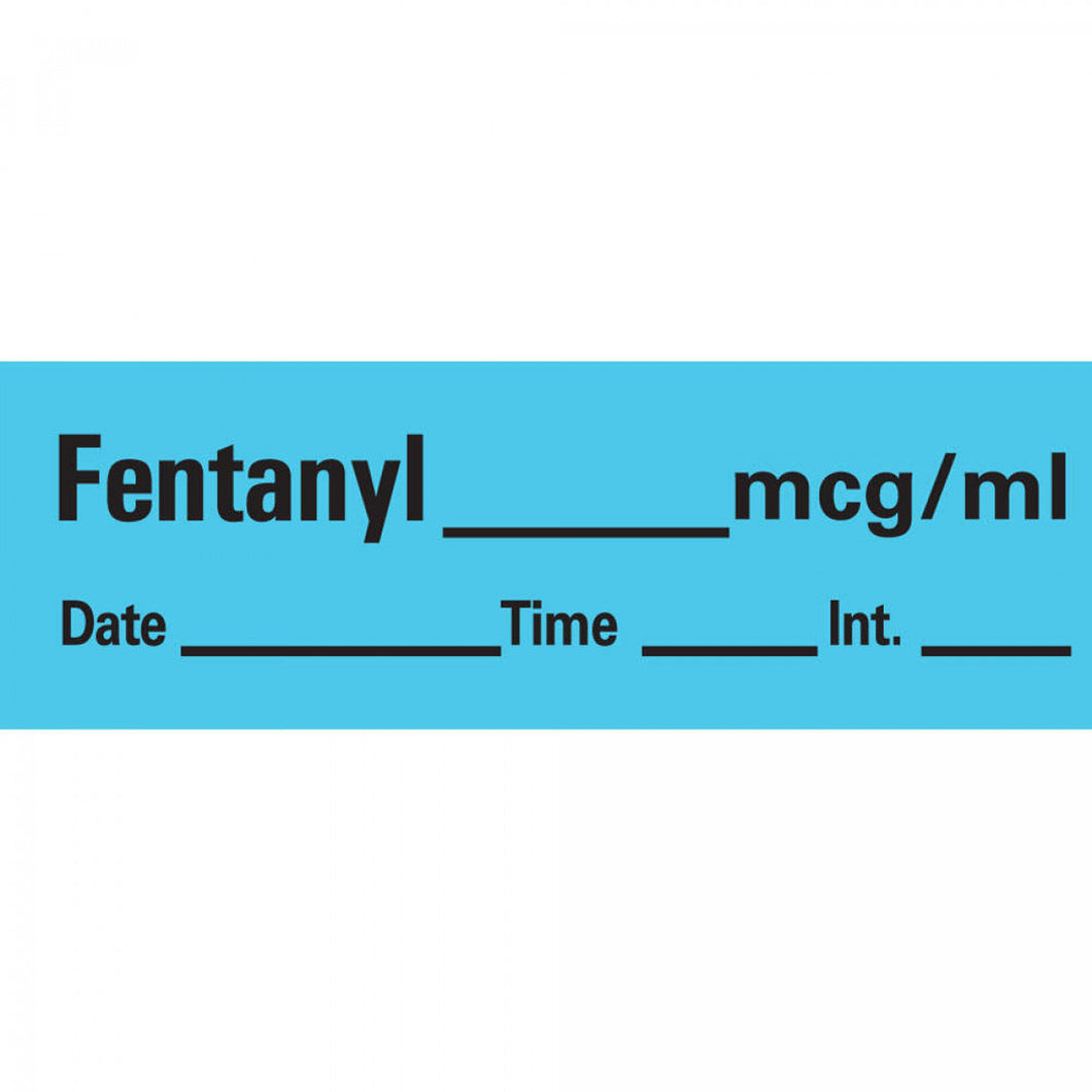 LABEL FENTANYL