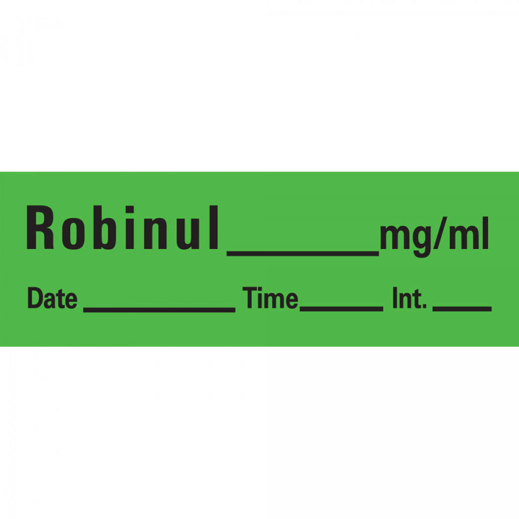LABEL ROBINUL