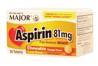 ASPIRIN CHEWABLE