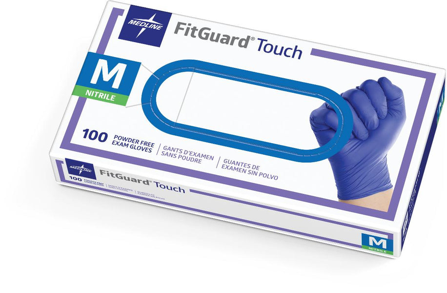 FitGuard Touch Nitrile Exam Gloves