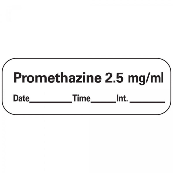 LABEL PROMETHAZINE