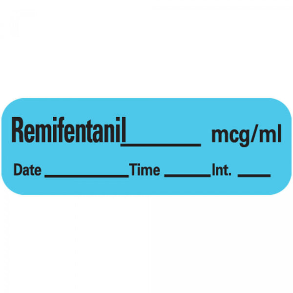 LABEL REMIFENTANIL
