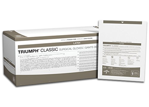 Triumph Classic Latex Surgical Gloves