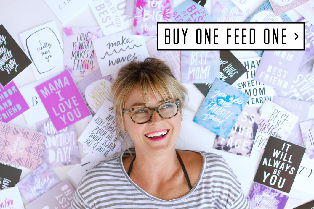 buy one feed one