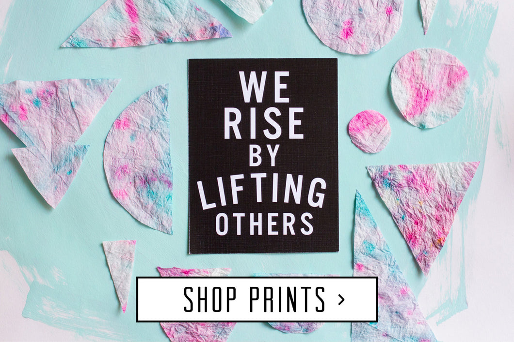 shop art prints live love studio