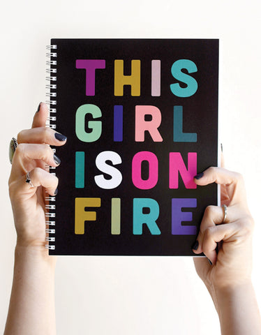 Girl On Fire - WEEKLY PLANNER (undated)