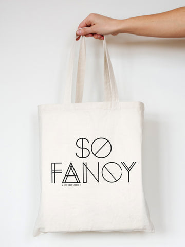 So Fancy - Tote