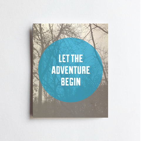 Adventure Begin - ART PRINT