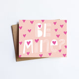 Be Mine - NOTECARD