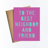 Best Neighbors - NOTECARD