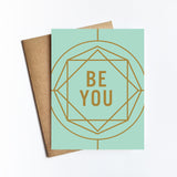 Be You - NOTECARD