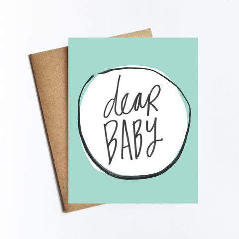 Dear Baby - NOTECARD