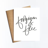 Forgiven & Free - NOTECARD