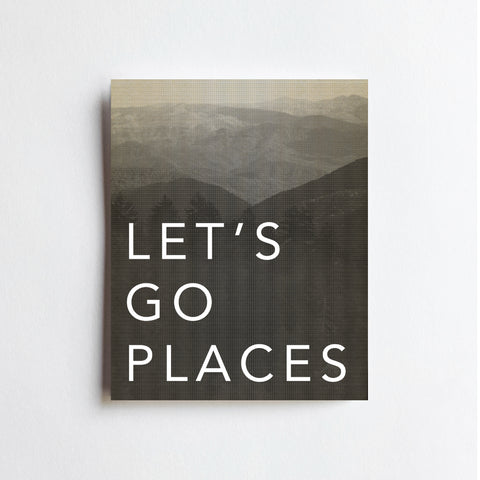 Go Places - ART PRINT