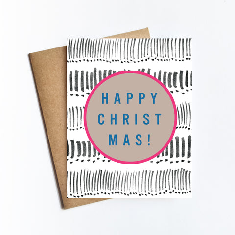Happy Christmas - HOLIDAY NOTECARD