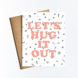 Hug It Out - NOTECARD