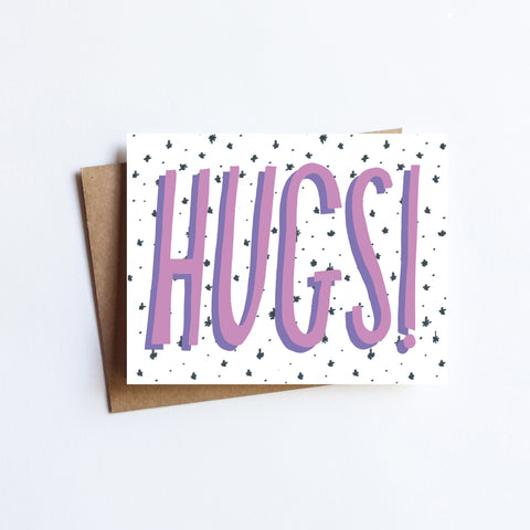 Hugs - NOTECARD