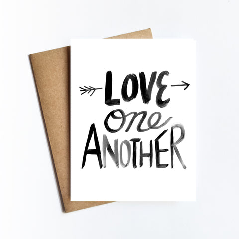 Love One Another - NOTECARD