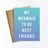 Mermaid Best Friends - NOTECARD