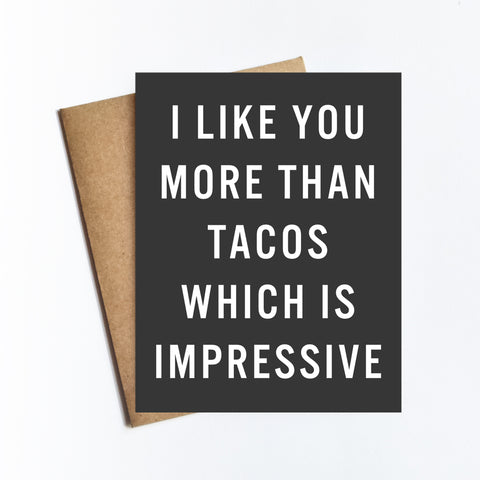 More Than Tacos - NOTECARD