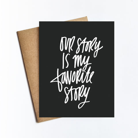 Our Story - NOTECARD