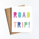 Road Trip - NOTECARD