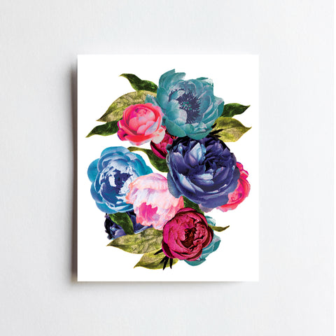 Rocker Flowers - ART PRINT