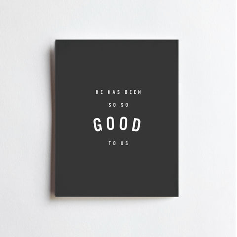 So So Good To Us - ART PRINT