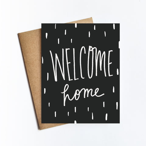 Welcome Home - NOTECARD