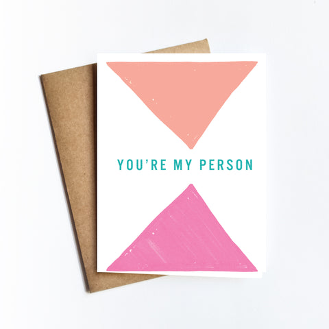 You're My Person - NOTECARD